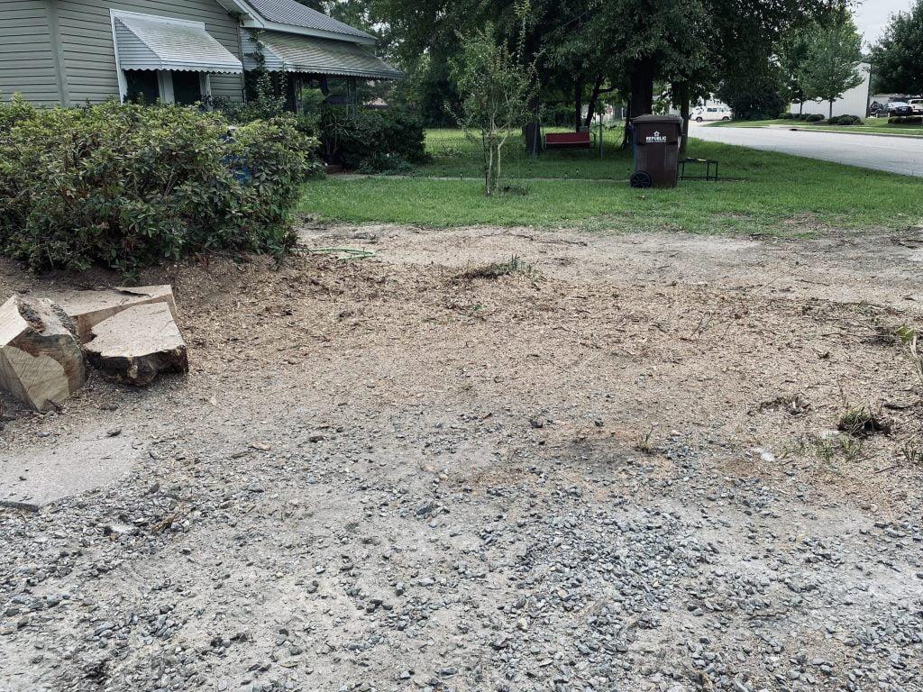 After Harnett County Stump Grinding